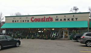 Cousin's Gourmet Market, 1215 Hurontario St, Mississauga.
