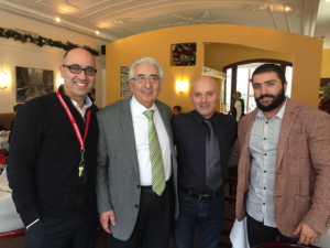 Daniel Torchia [left], Biagio Vinci [second from left] and Alfio Pasquarelli [second from right, with son Stefano] all share the same philosophy of great customer service.