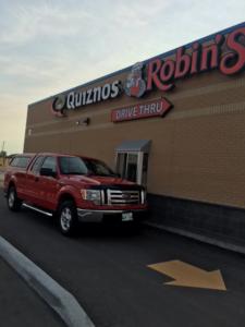 Quiznos_Robin's Drive Thru